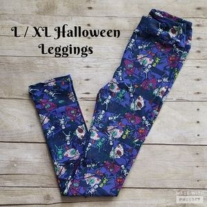 LuLaRoe Kids Halloween Leggings